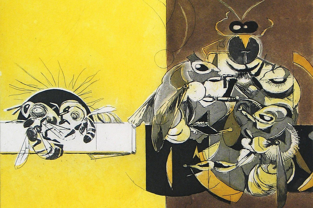 Graham-Sutherland-Bee-Suite-Lithograph