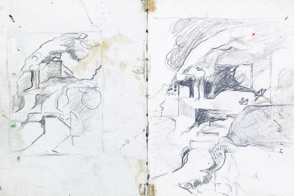 Graham-Sutherland-Pembrokeshire-Sketchbook-Pages
