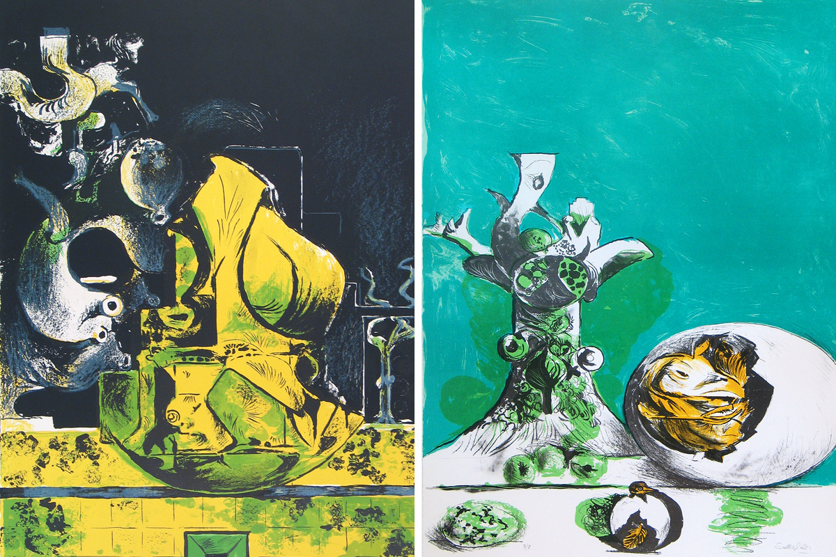 Graham-Sutherland-The-Rock-The-Egg-Lithographs