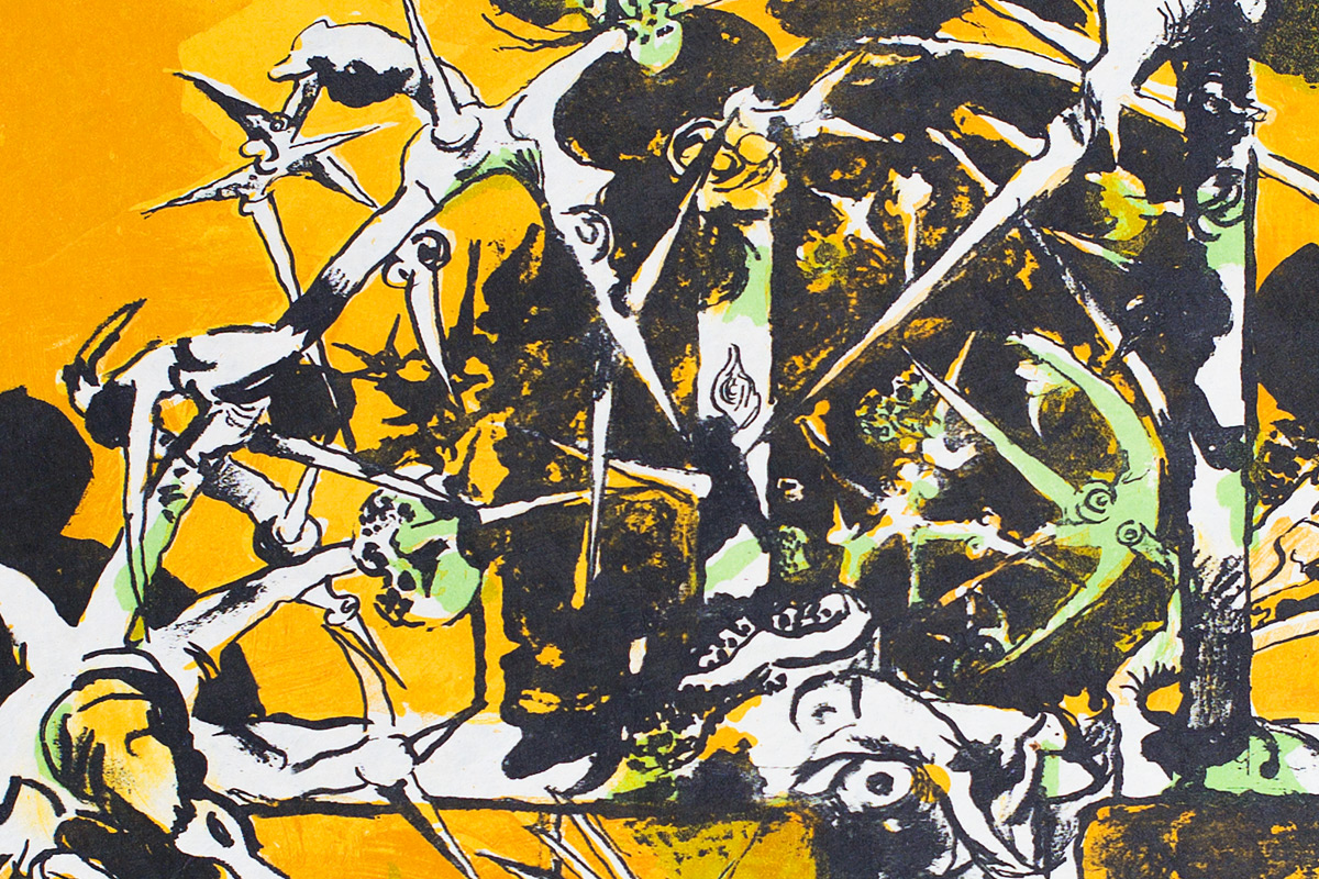 Graham-Sutherland-Thorn-Structure-Lithograph-Detail
