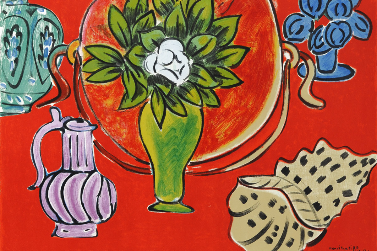 Henri-Matisse-Still-Life-Vase-and-Shell-Poster
