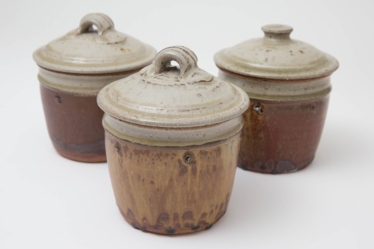 Jim-Malone-Ceramics-Exhibition-Celebration-Lidded-Jars