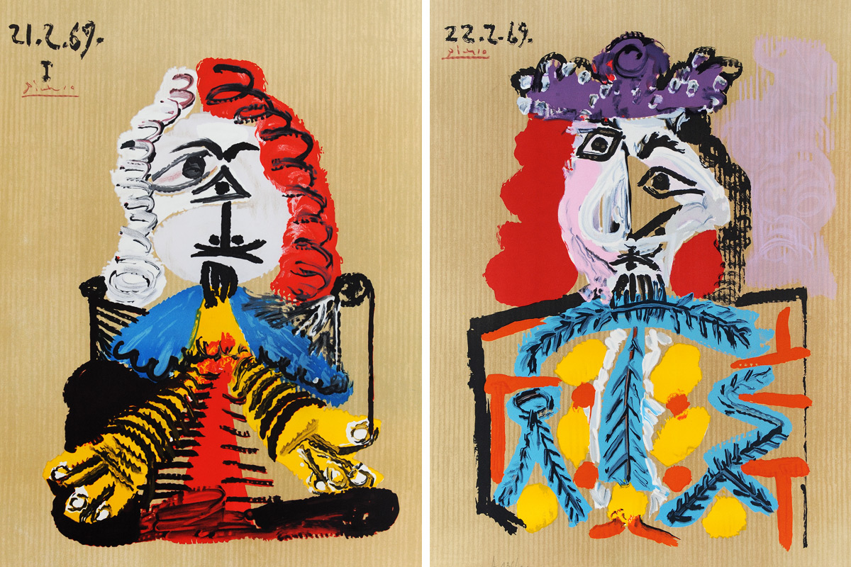 Picasso-Portraits-Imaginaires-21.2.69-and-22.2.69