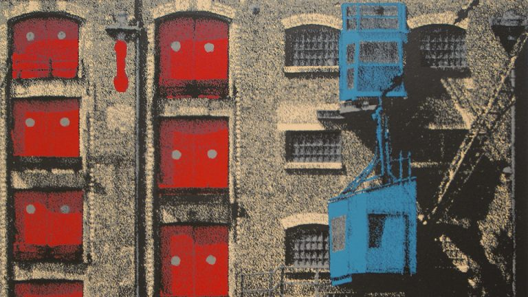 Featured Art | Snapshots of the City: Screenprints by Gerd Winner