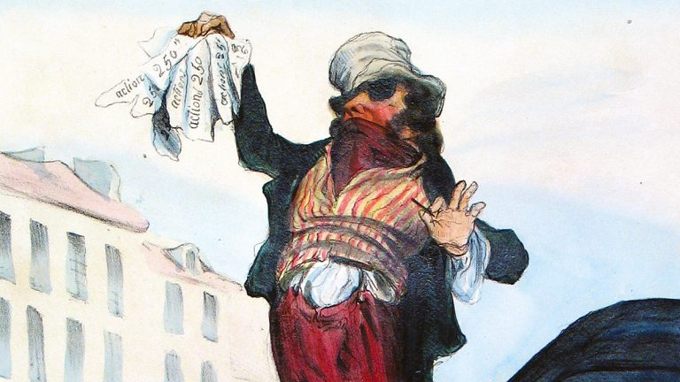 In Focus | Honoré Daumier and the 'Robert Macaire' Cartoons