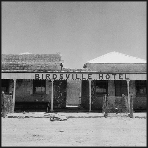 Birdsville Hotel; from Nolan 'Drought' photographs, 1952