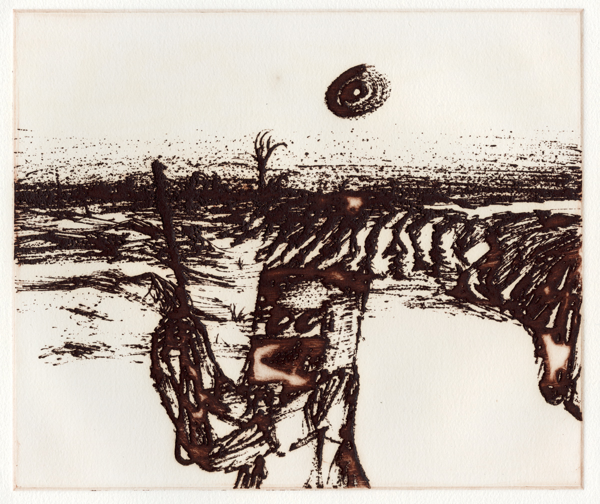 Ned Kelly – Sidney Nolan, 'Dust'